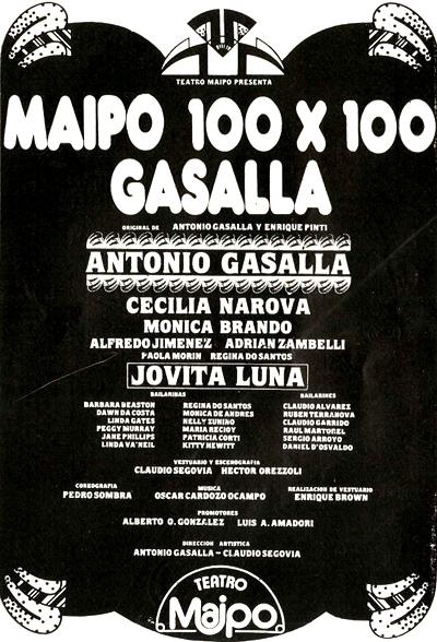 MAIPO 100 X 100 GASALLA